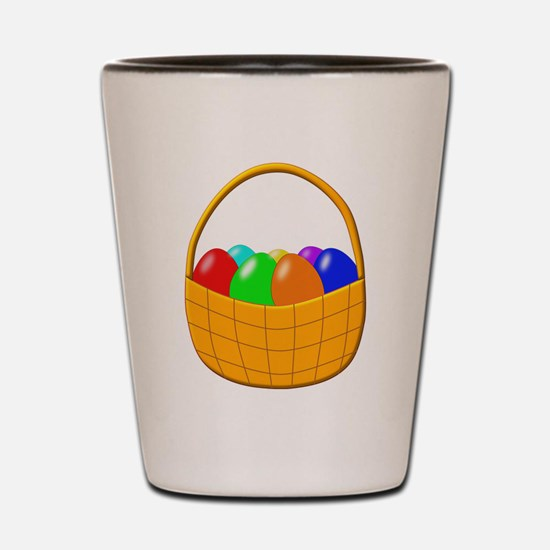 Easter Eggs Shot Glass