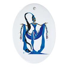 Yemaya Ornament (Oval)