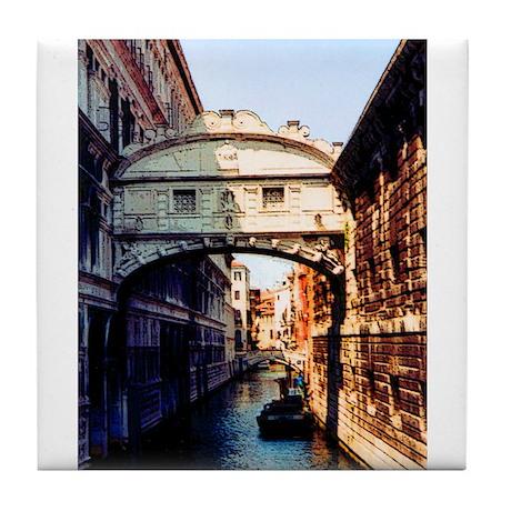 Bridge of Sighs Tile Coaster