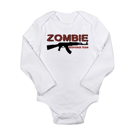 Zombie Response Team Long Sleeve Infant Bodysuit