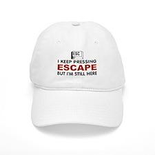 Escape Key Baseball Baseball Cap