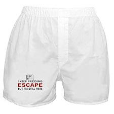Escape Key Boxer Shorts