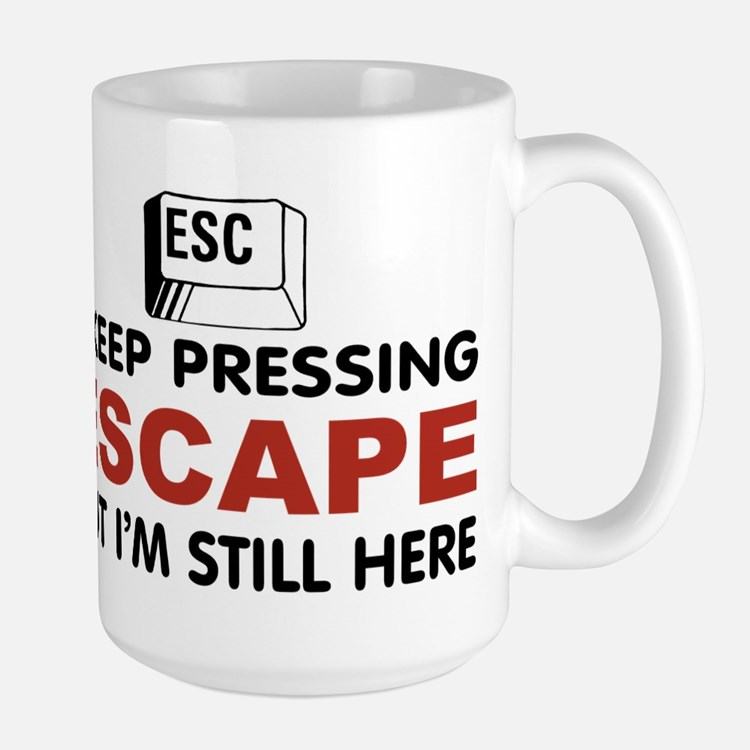 Escape Key Large Mug