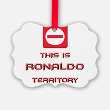 Cute Ronaldo Ornament