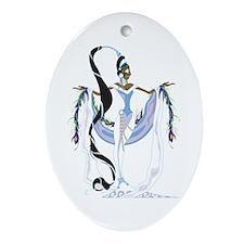 Yemaya Divina Ornament (Oval)