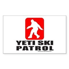 YETI SKI PATROL Decal