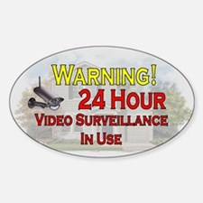 Funny Video surveillance system Decal