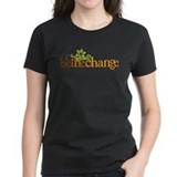 Be the change Women's Dark T-Shirt