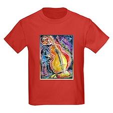 Bass player, fun music art T-Shirt