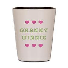 Granny Winnie Shot Glass