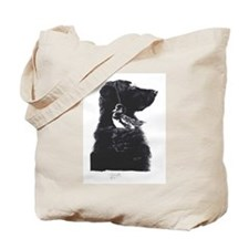 Lab and Duck Tote Bag