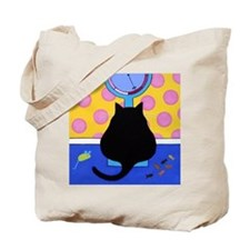 FAT Black CATS 2-Sided Tote Bag