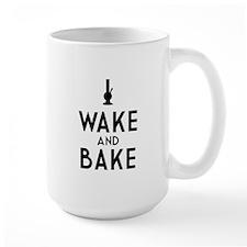 Wake and Bake Bong Dark Mug