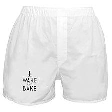 Wake and Bake Bong Dark Boxer Shorts