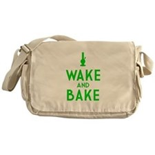 Wake and Bake Bong Messenger Bag