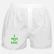 Wake and Bake Bong Boxer Shorts