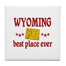 Wyoming Best Tile Coaster