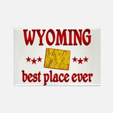 Wyoming Best Rectangle Magnet