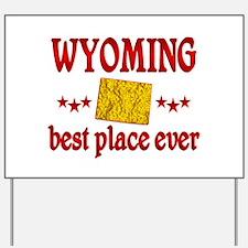 Wyoming Best Yard Sign