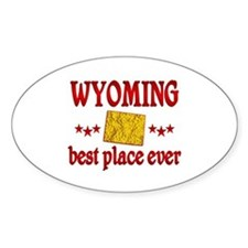 Wyoming Best Decal