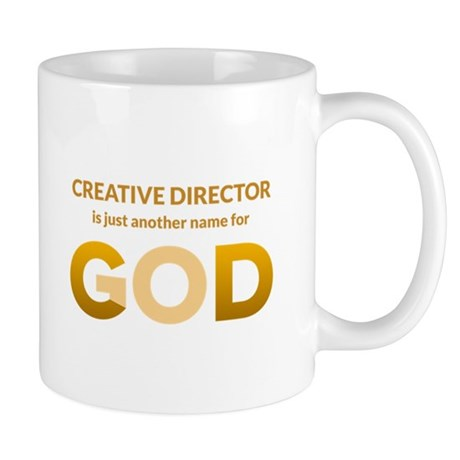 Creative director is another name for god mug by uptheagency for Another word for back