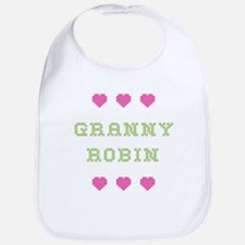 Granny Robin Bib