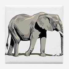 Elephant Tile Coaster