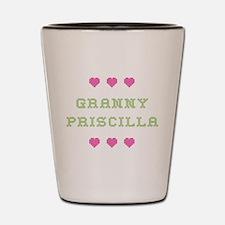 Granny Priscilla Shot Glass