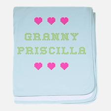 Granny Priscilla baby blanket