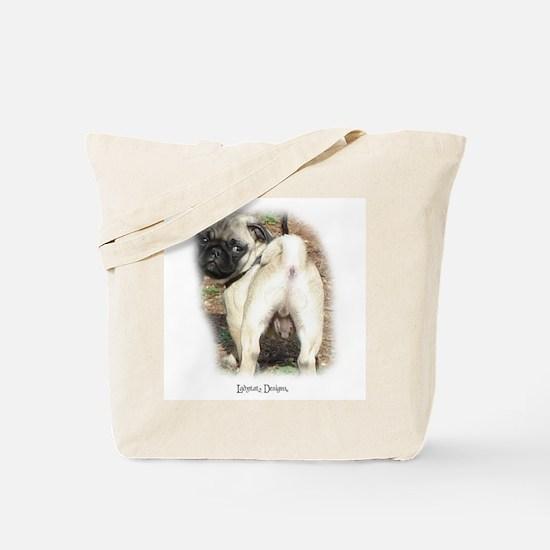Pug Lover Tote Bag