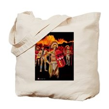 Tote Bag, Warrior King Paupaho
