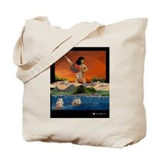 Tote Bag, Last Hawaiian Koa Warrior