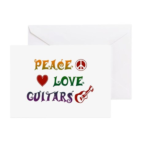 Guitar Greeting Cards (Pk of 10)