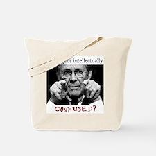 Rumsfeld is Confused Tote Bag