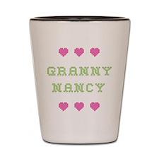 Granny Nancy Shot Glass