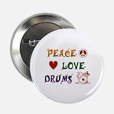 "Drums 2.25"" Button"