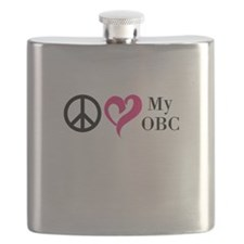 Peace Love My OBC Flask