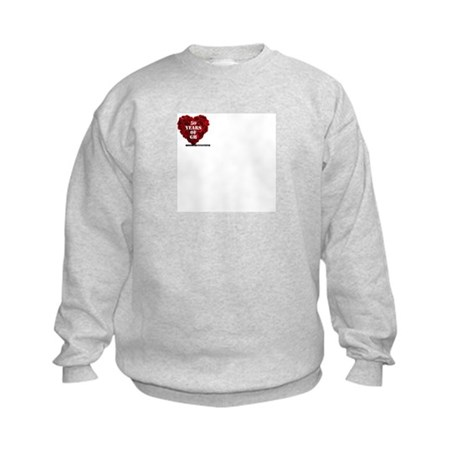 General Hospital 50th Anniversary Heart Sweatshirt