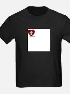 General Hospital 50th Anniversary Heart T-Shirt
