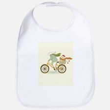He Takes The Egg Cat Forsley Designs Bib
