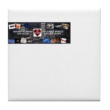 RHeart Network Logo Tile Coaster