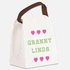 Granny Linda Canvas Lunch Bag
