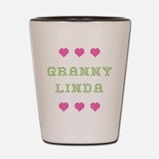 Granny Linda Shot Glass