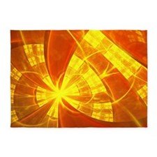 Orange Dream 5'x7'Area Rug