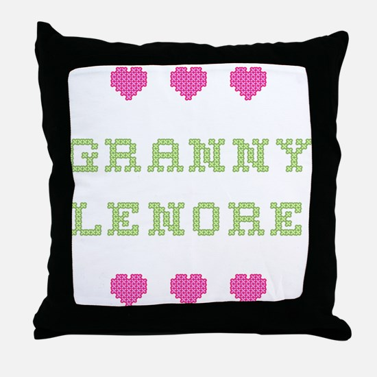 Granny Lenore Throw Pillow