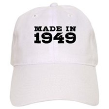 Made In 1949 Baseball Cap