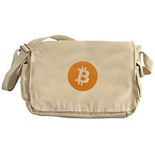 Bitcoin Logo Messenger Bag