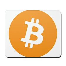 Bitcoin Logo Mousepad