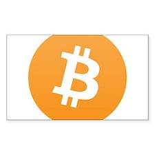 Bitcoin Logo Decal