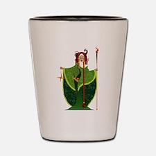 St. Brigid of Ireland Shot Glass